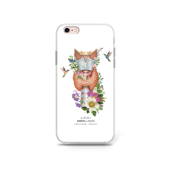 Sarai Llamas - The Butterfly Gland #ThyroidCancerAwareness Special iPhone Case