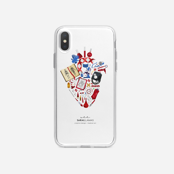 Sarai Llamas - Heart of Medicine iPhone Case
