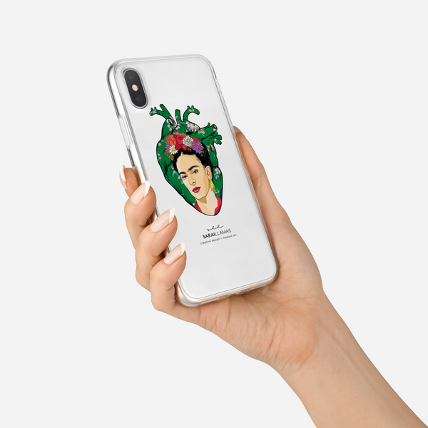 Sarai Llamas - Frida's Heart iPhone Case