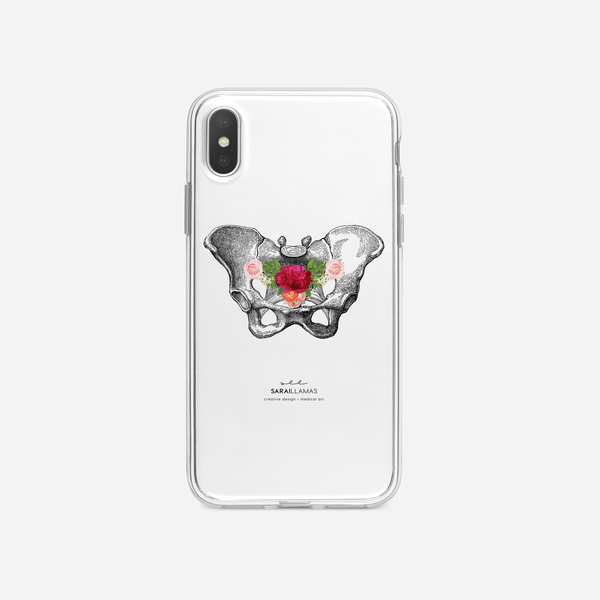 Sarai Llamas - Pelvis iPhone Case