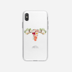 Sarai Llamas - Blooming Uterus iPhone Case