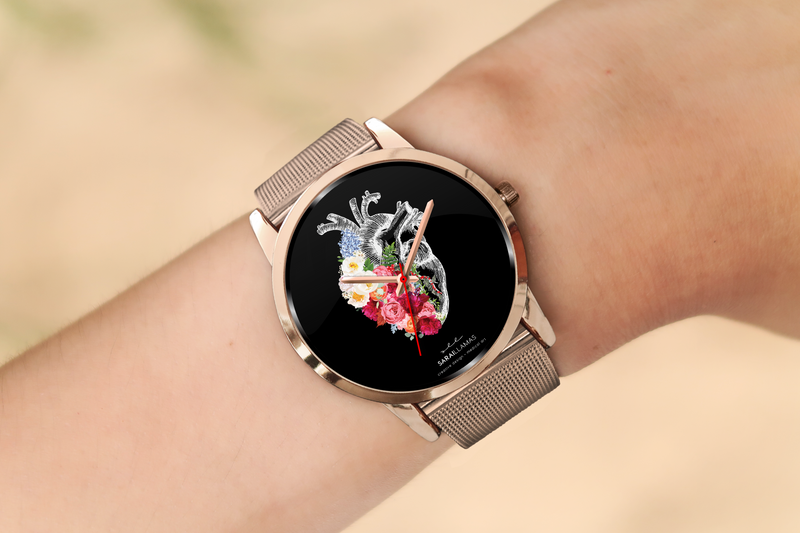 Sarai Llamas - Find The Seed Watch (Rose Gold)