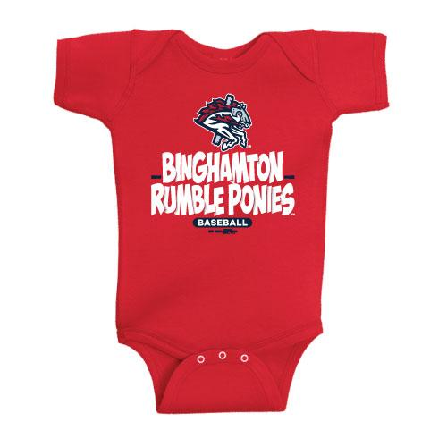 Infant Undertone Red Onesie