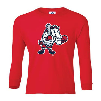 Youth Long Sleeve Alternate Tee Red