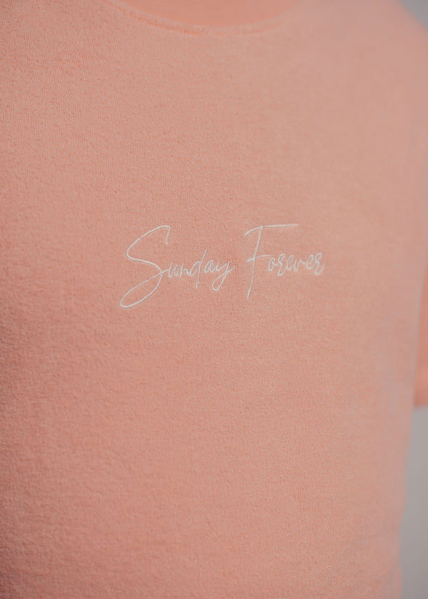 Towel T-shirt Peach