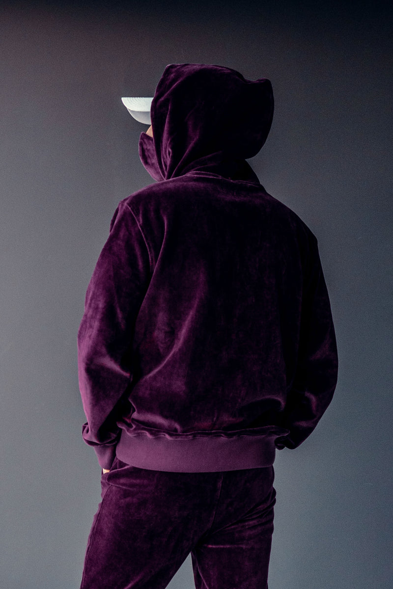 VELOUR HOODIE // PURPLE LIMITED EDITION