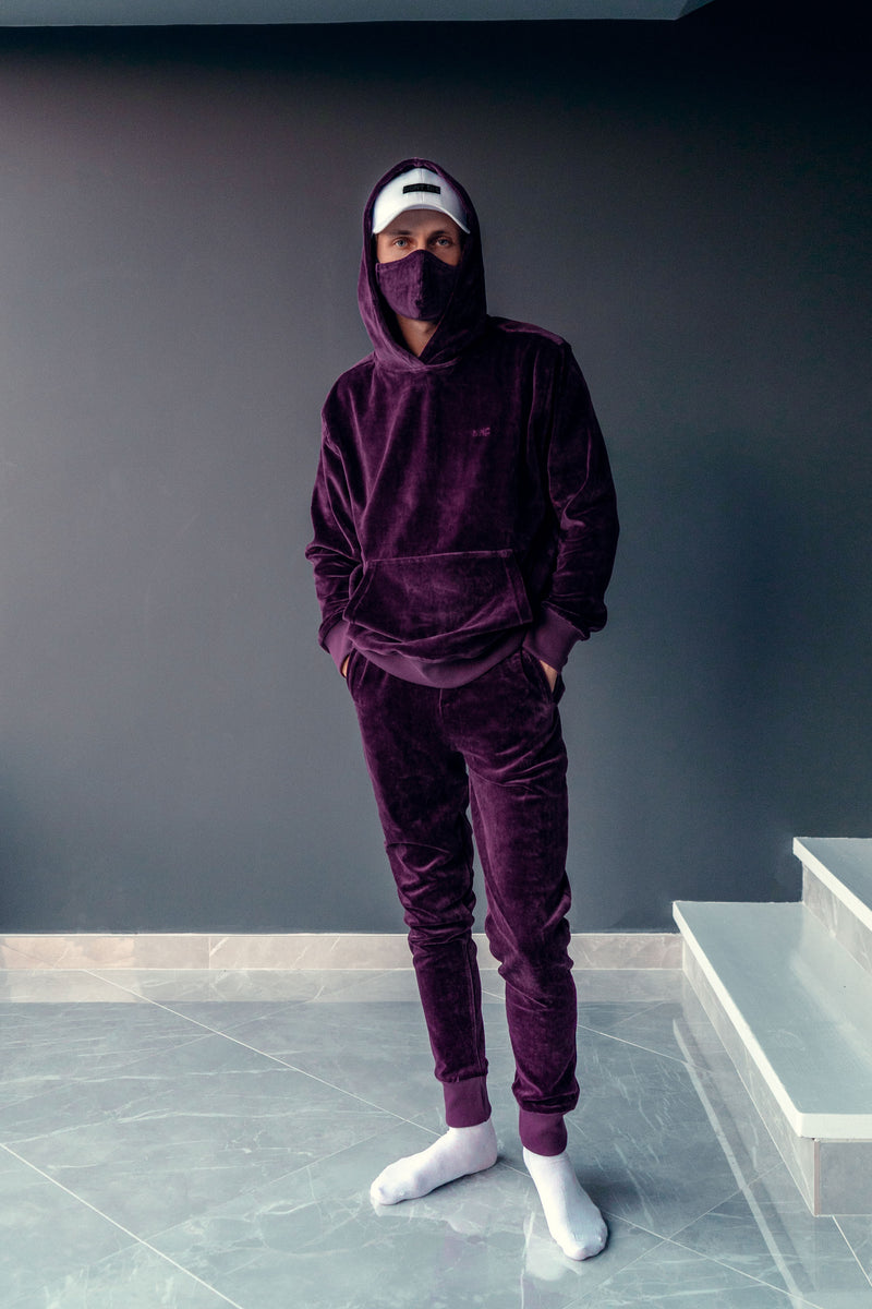 VELOUR JOGGER 2.0 // PURPLE LIMITED EDITION
