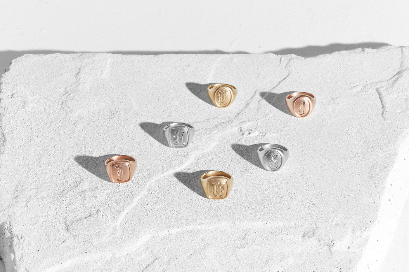 Signet Rings-Honey Jewelry Co