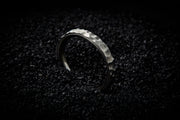 Hammered Wedding Band for Men