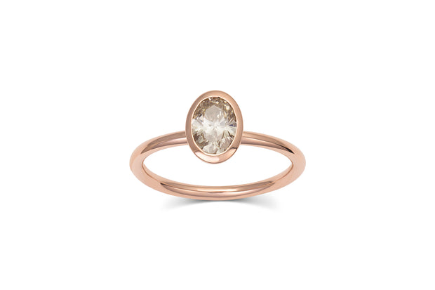 .80ct Champagne Diamond Ring