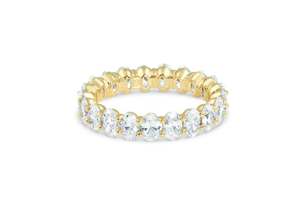 Oval Diamond Wedding Ring