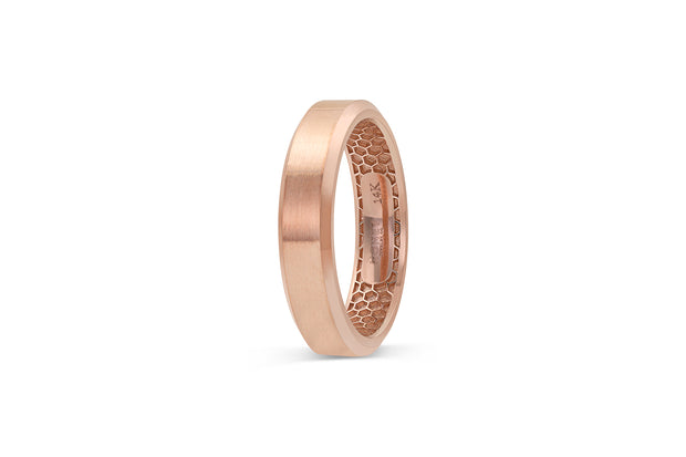 Men's Beveled Edge Wedding Band