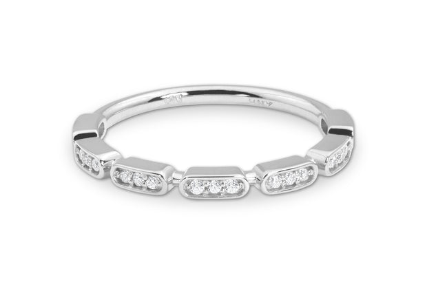 Triple Set Diamond Band