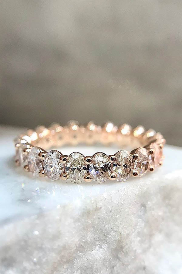 Diamond Eternity Band as an Engagement Ring