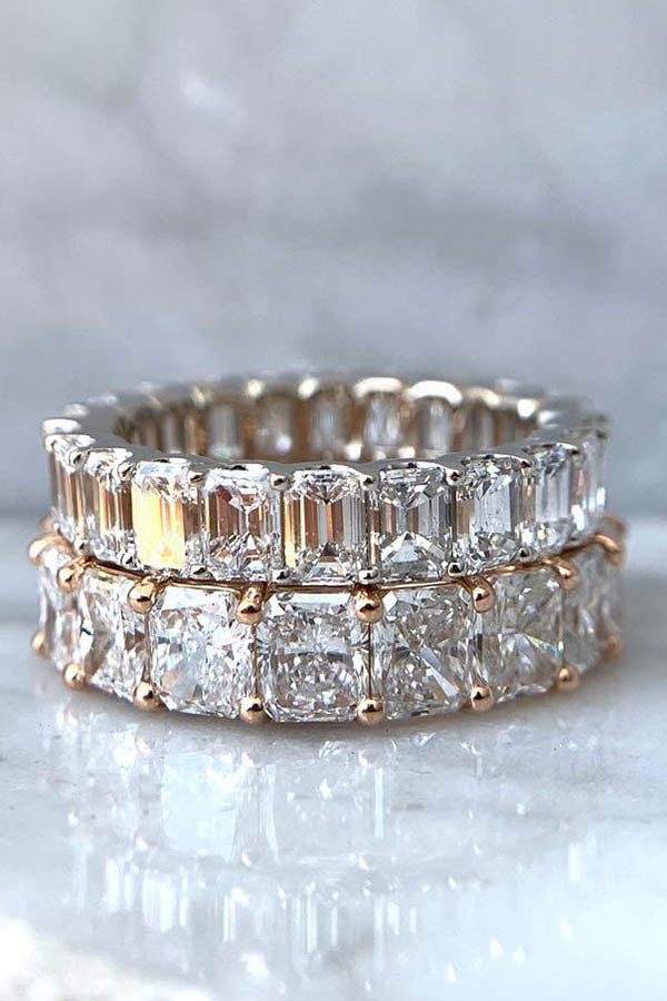 Eternity Band as Engagement Ring