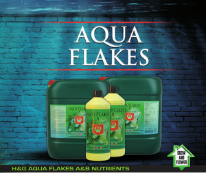House & Garden - Aqua Flakes A&B Nutrients 1L, 5L or 10L