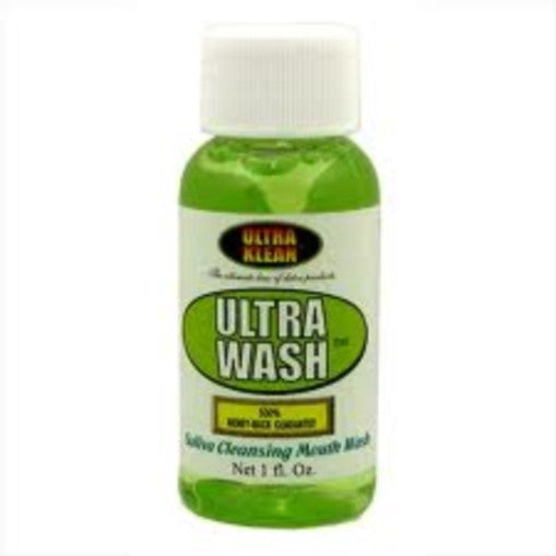 Ultra Klean Mouth Wash (one ounce) Pack of 4