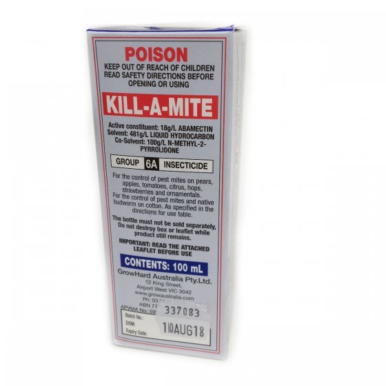 Kill-A-Mite 100ml Multi Pack (2)