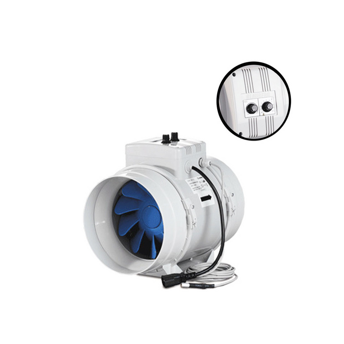"Blauberg Turbo G Mixed Flow Fan - 200MM (8"" Inch) 