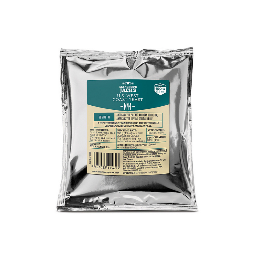 Mangrove Jack's CS Yeast M44 US West Coast (100g)