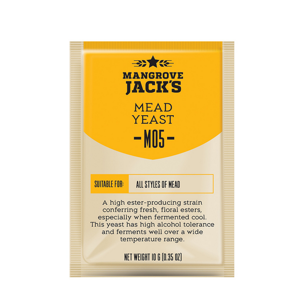 Mangrove Jacks M05 Mead - Craft Series Yeast - 10G (Three Packets)