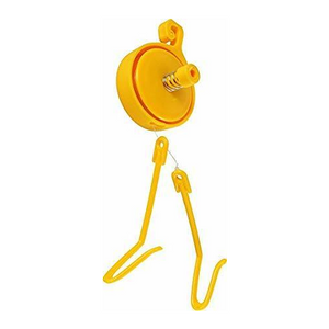 YELLOW YOYO PLANT HANGER TWIN HOOK 12 PK