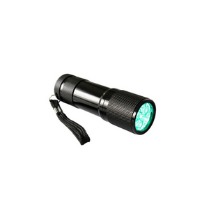 Flashlight LED Torch - 9 x Green LED | High Intensity | Batteries not Included