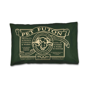 Organic Cotton Pet Futon (Green)