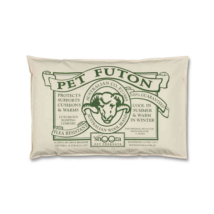 Organic Cotton Pet Futon (Natural)