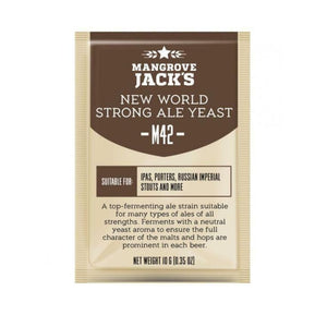 Mangrove Jack's Yeast M42 New World Strong Ale (10g)
