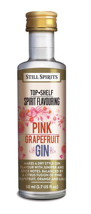 Still Spirits Top Shelf Spirit Flavouring - Pink Grapefruit Gin