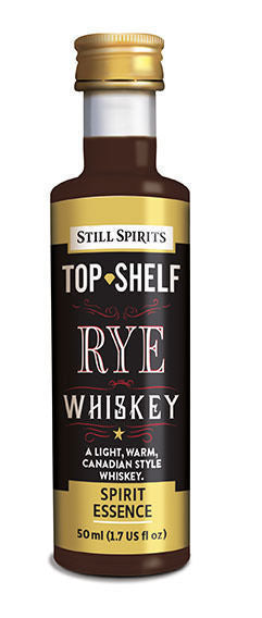 Still Spirits Top Shelf Spirit Flavouring - Rye Whiskey