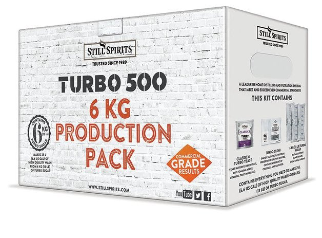 Still Spirits Turbo 500 6KG Production Pack