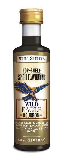 Still Spirits Top Shelf Spirit Flavouring - Wild Eagle Bourbon