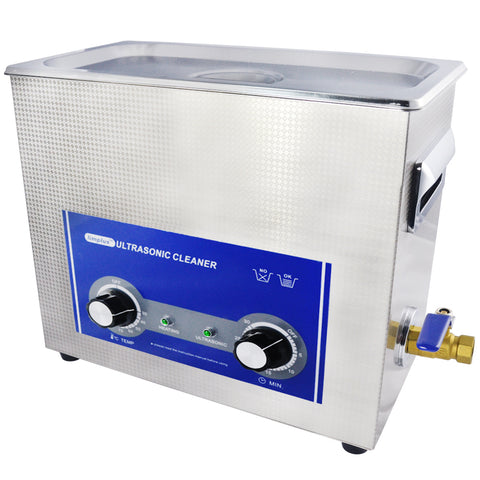 Limplus Gun Parts Ultrasonic Cleaner Machine with Heater LS-06