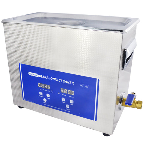 6.5liter Firearm Cartridges Digtal Ultrasonic Cleaner SS304