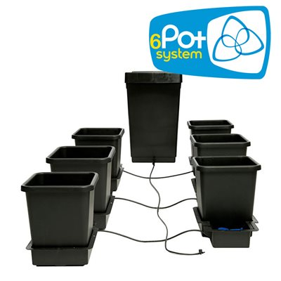 AutoPot 6 Pots Complete Watering System Kit With Solid Reservoir 47L