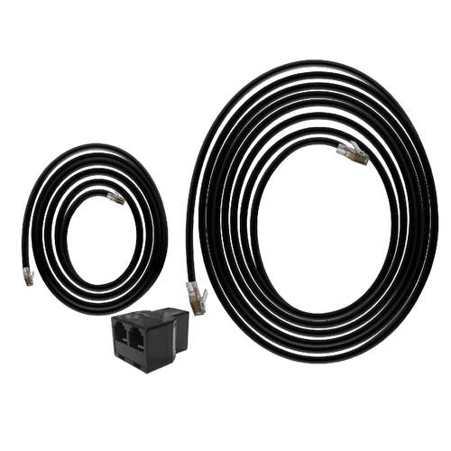 TROLMASTER Hydro-X RJ12 Extension Cable Set