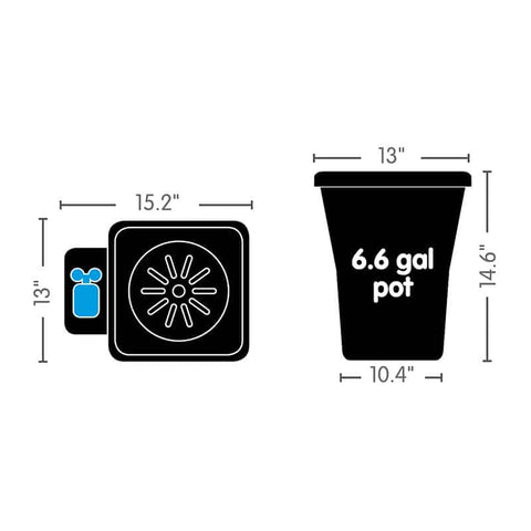 AutoPot 1 Pot XL Complete Watering System