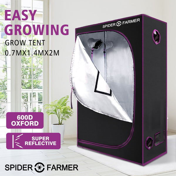 SPIDER FARMER 4.5'x2'x6.5' 140cm x 70cm x 200cm Indoor Grow Tent