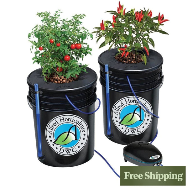 Alfred Deep Water Culture Dwc 2-Plant System