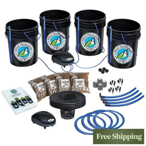 Alfred Deep Water Culture Dwc 4-Plant System
