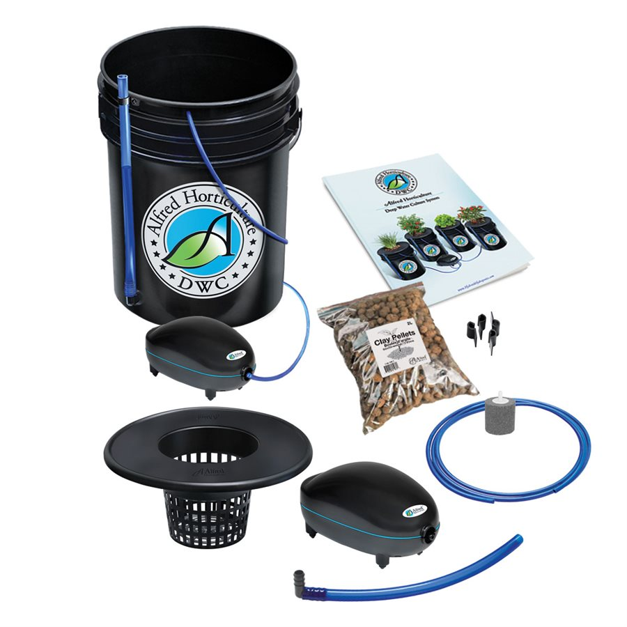 Alfred Deep Water Culture DWC 1-Plant System