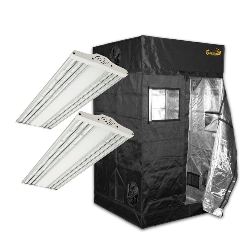 The Green Sunshine Company Electric Sky ES300 (x2) and Gorilla Grow Tent Bundle