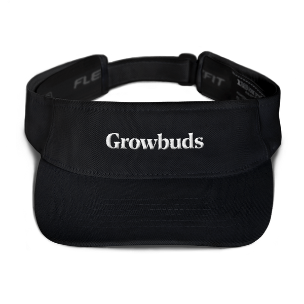 Growbuds Embroidered Visor