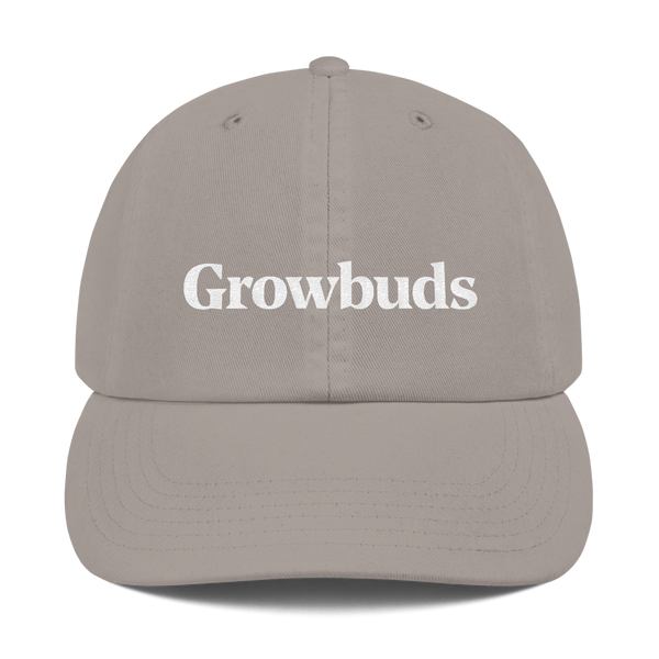 Growbuds x Champion Dad Cap