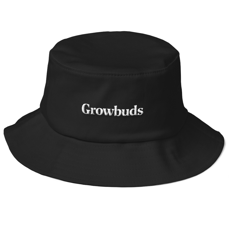 Growbuds Old School Bucket Hat