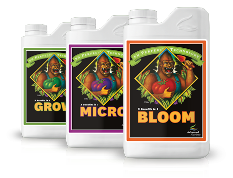 Advanced Nutrients PH Perfect Grow, Micro, Bloom Bundle