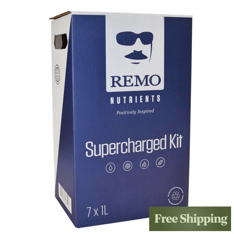 Remos Nutrients Supercharged Kit 1L & Additives
