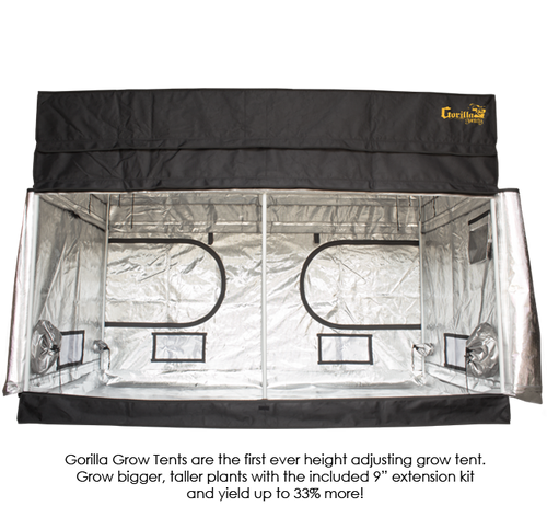 Gorilla Grow Tents at GrowBuds® | Great Prices, Free Canada Delivery
